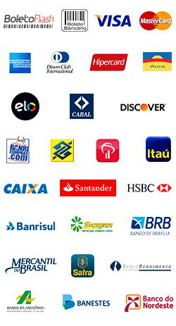 PagBrasil - Processador de pagamentos nacional