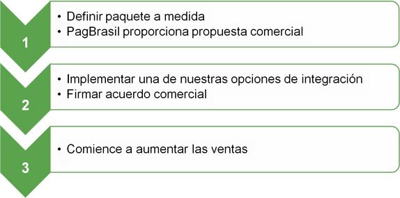 como empezar a processar pagos en línea con la pasarela de pago de PagBrasil