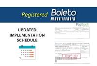 Registered Boleto Implementation Schedule