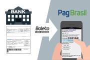 procesamiento de boleto con PagBrasil versus banco