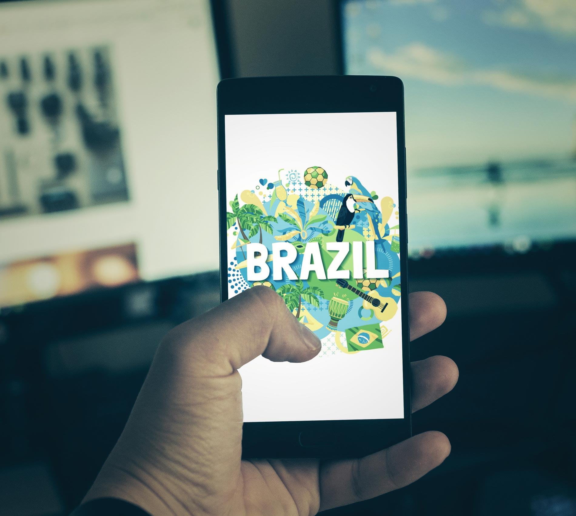 Brazil is the 5th Country in Smartphone Usage