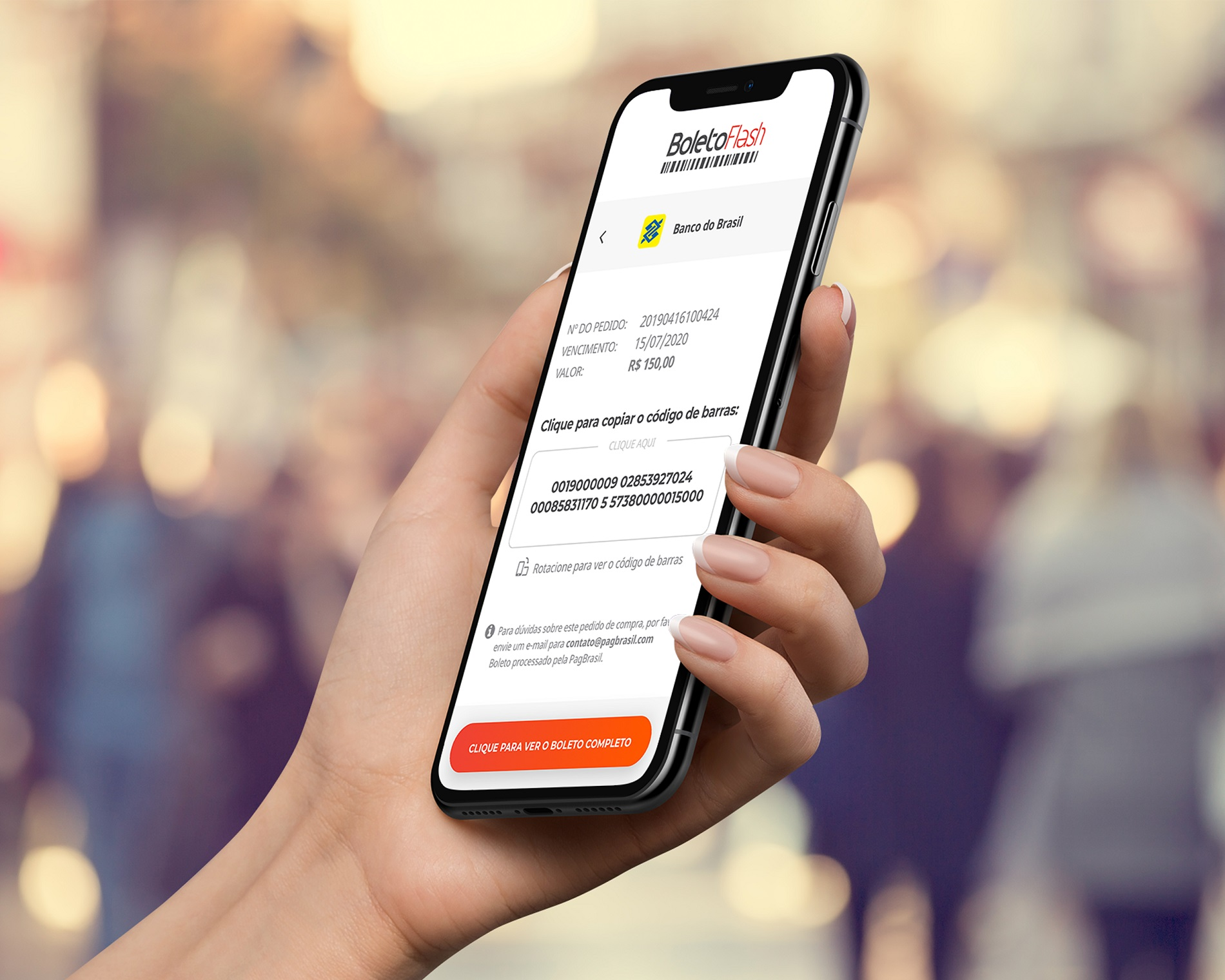 confirmação de pagamento | payment confirmation