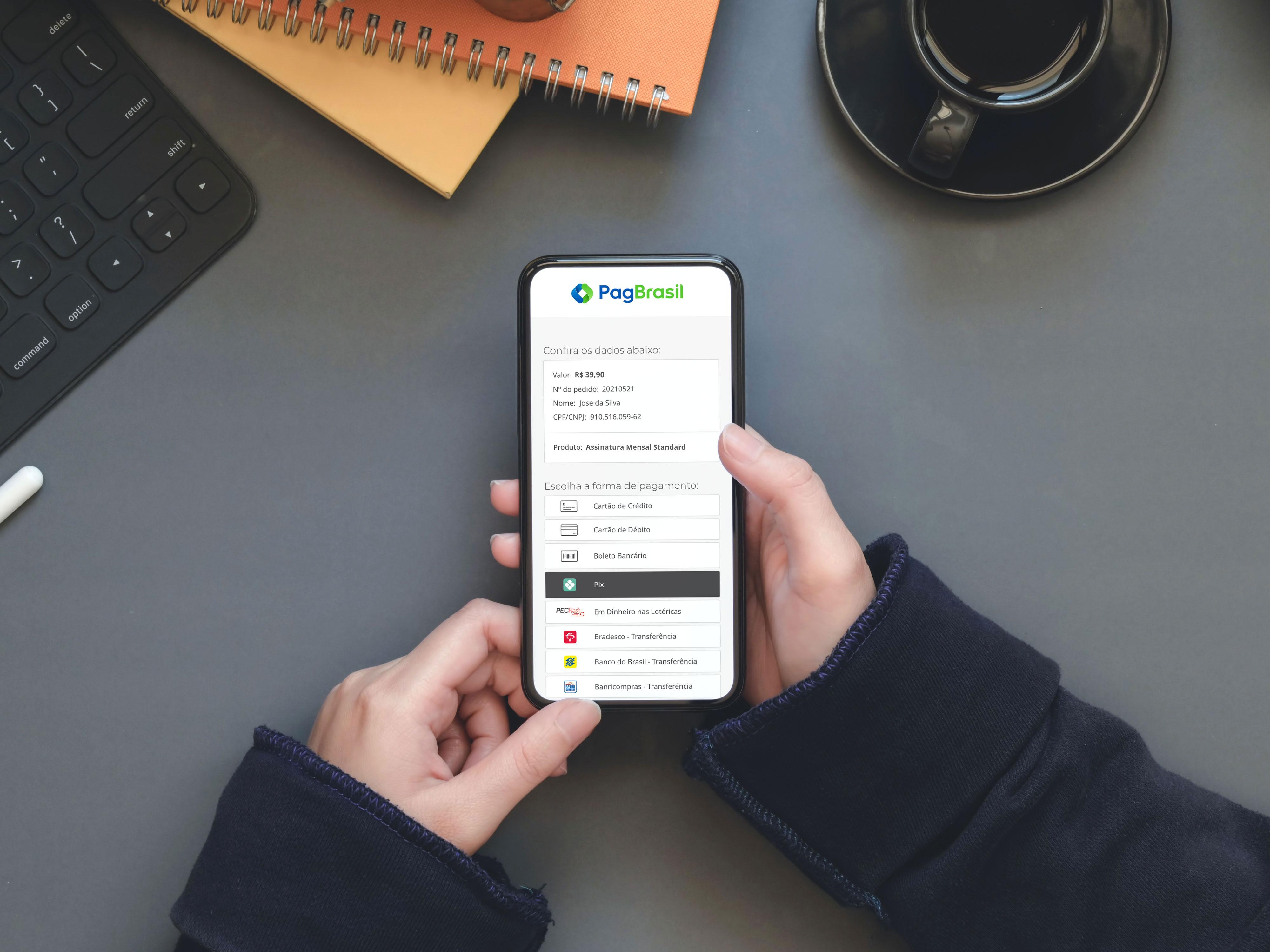 PagBrasil lança duas soluções para Pix: pagamentos recorrentes e cobrança com link de pagamento