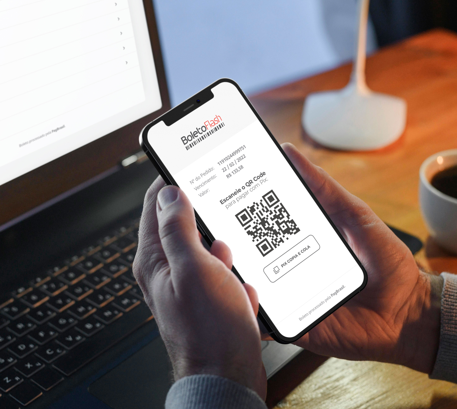 Boleto Flash® agora pode ser pago com Pix